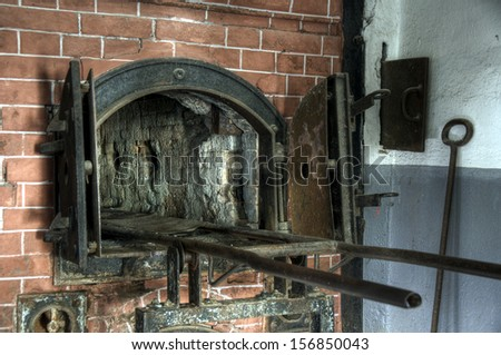 Concentration camp stock photos images pictures for Auschwitz chambre a gaz