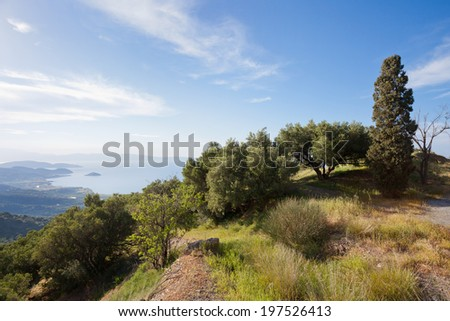 Crete - Greece - Nature of Crete - stock photo