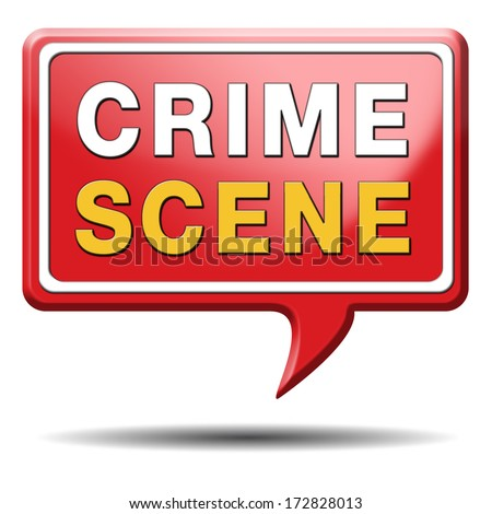 crime scene investigation murder forensic science invest criminal case and searching and collecting evidence to solve assassination - stock photo