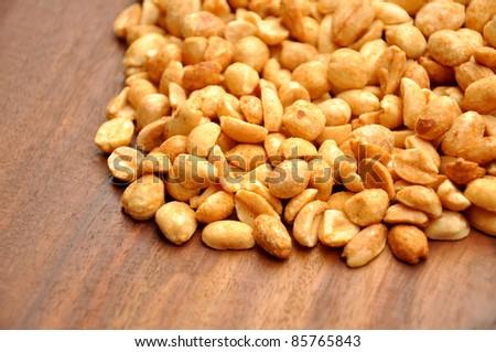 Crispy Salty Peanuts - stock photo
