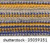 Crochet, detail - stock photo