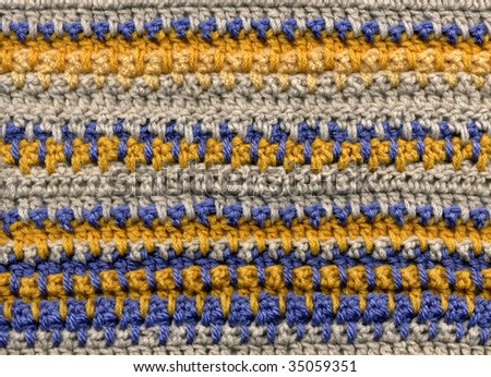 Crochet, detail - stock photo
