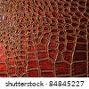 crocodile skin texture background. - stock photo
