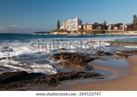 Cronulla Beach, Sydney Australia - stock photo