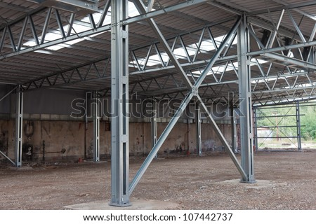 Steel beam Stock Photos, Illustrations, and Vector Art