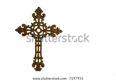 Cross or crucifix - stock photo
