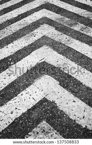 Crosswalk. Traffic walk way background. - stock photo