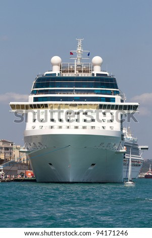 Cruises from Istanbul Port - stock photo