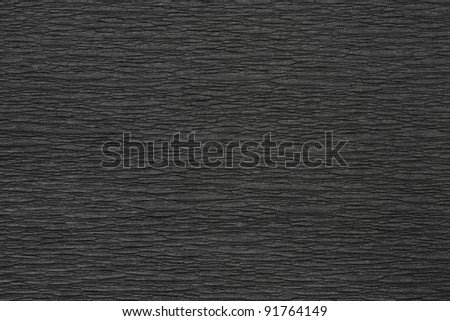 Crumpled Black Paper texture See my portfolio for more - stock photo