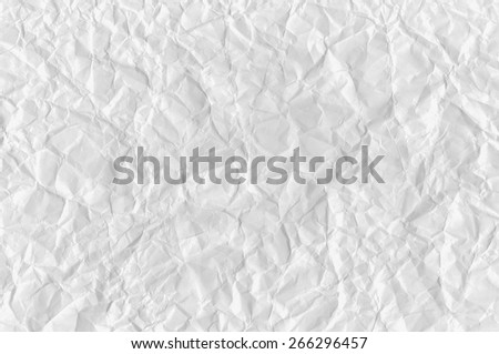 Crumpled Paper Texture. Background - stock photo