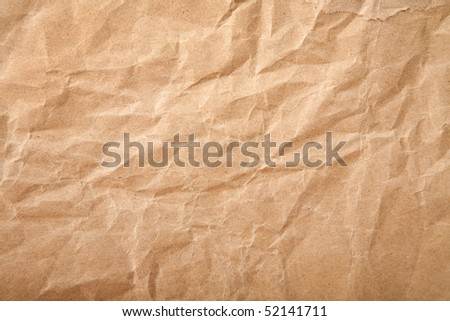 crushed grunge paper background - stock photo