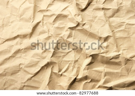 crushed grunge paper background for your design - stock photo