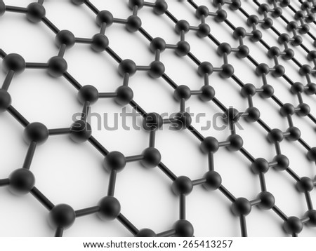 crystal lattice model of a crystal lattice - stock photo