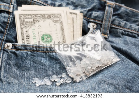 Crystal meth - stock photo