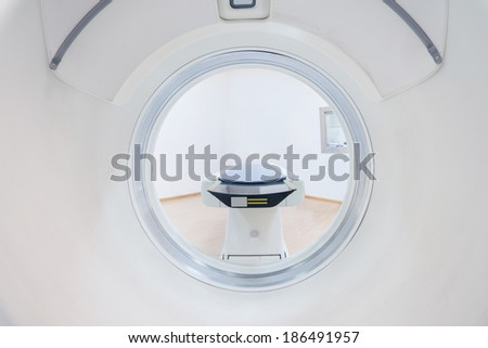 CT and argon helium knife - stock photo
