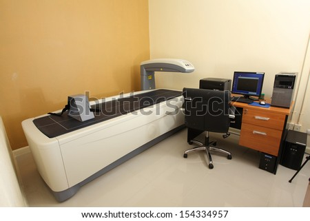 CT scan an advance technology for medical diagnosis - stock photo