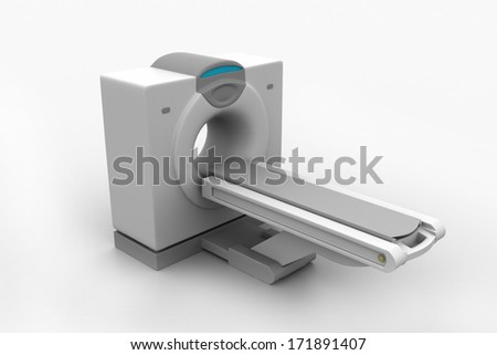 CT Scanner Tomography - stock photo