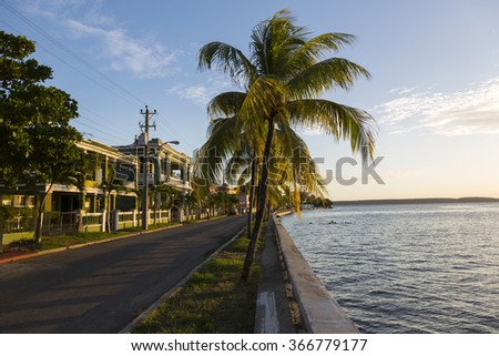 Cuba, Cienfuegos - stock photo