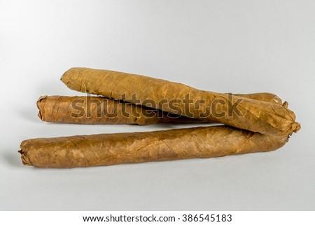 Cuban CIgars - stock photo