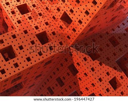 Cubic Prospective - 1 - stock photo