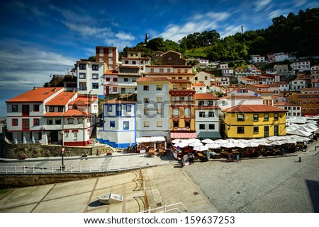 Cudillero - stock photo