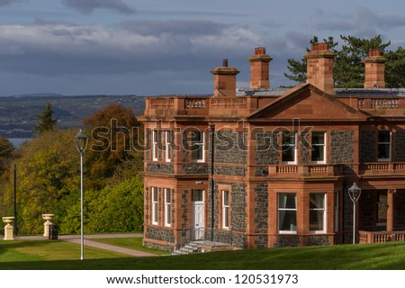 Cultra Manor, Belfast, Northern Ireland - stock photo
