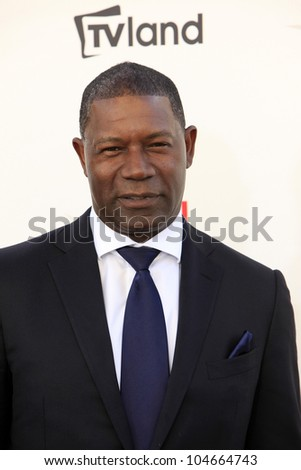 CULVER CITY - JUN 7: Dennis Haysbert at the 40th AFI Life Achievement Award honoring Shirley MacLaine held at Sony Pictures Studios on June 7, 2012 in Culver City, California - stock photo