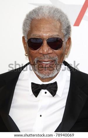CULVER CITY - JUN 9: Morgan Freeman at the 39th AFI Life Achievement Award Honoring Morgan Freeman held at Sony Pictures Studios  in Culver City, California on June 9, 2011. - stock photo
