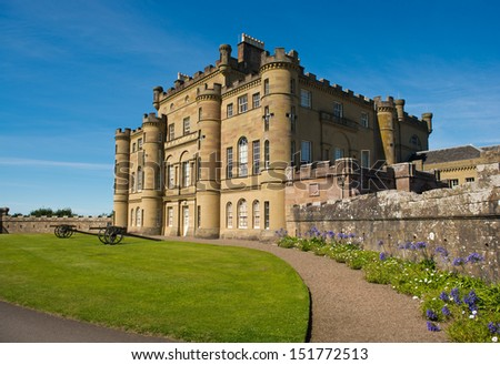 Culzean castle, Ayrshire, Scotland - stock photo
