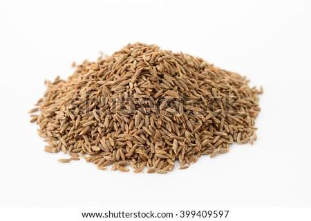cumin seed - stock photo