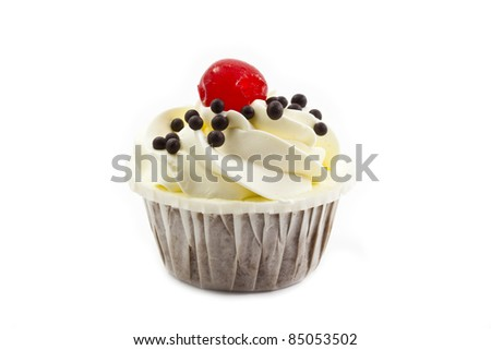cup cake - stock photo