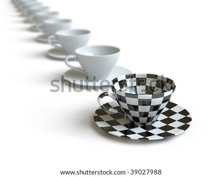 Cup. In my portfolio there is collection of pictures of tablewares. You only enter IN a SEARCH the Photographer Name: PAVEL IGNATOV and keyword: TABLEWARE - stock photo