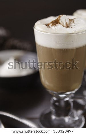 Cup of Specialty Coffee - shallow depth of field - stock photo
