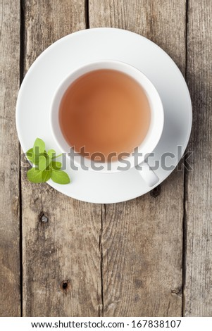 Cup of tea - stock photo