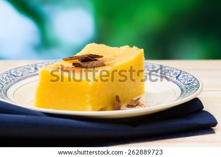 Cural, candy corn - stock photo