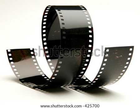 curly film - stock photo