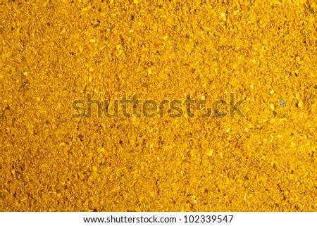 curry powder - stock photo