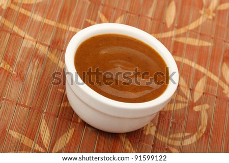 Curry Sauce - stock photo