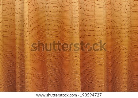 curtain background with spiral pattern - stock photo