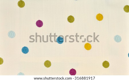 curtain fabric - stock photo