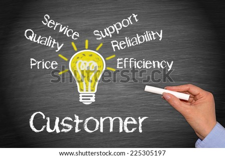 Customer - Business Concept - stock photo