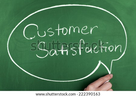 Customer Satisfaction - stock photo