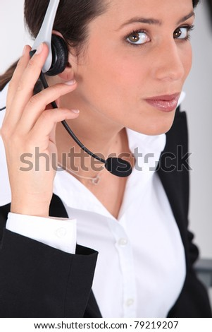 Customer Services - stock photo