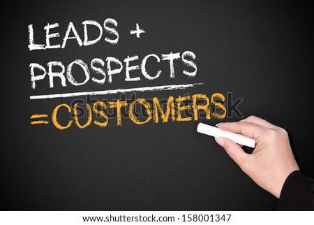 Customers - stock photo