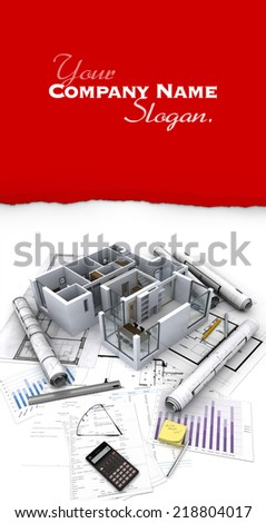 Customizable image related to Real Estate - stock photo