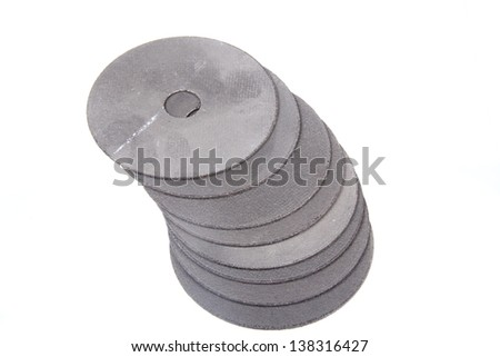 cut metal - stock photo