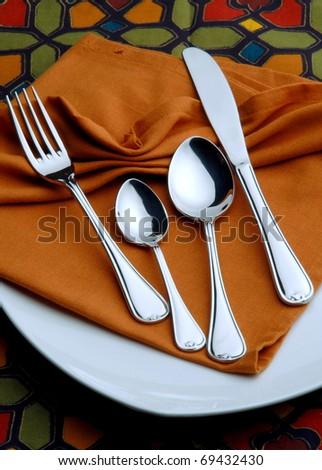 cutlery - stock photo