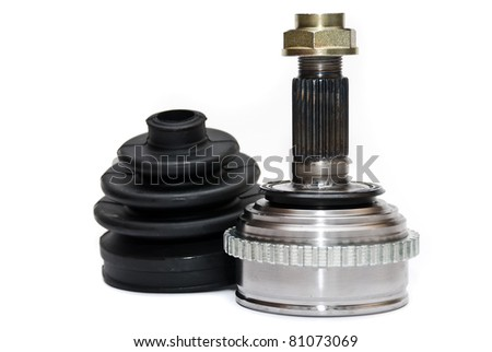 CV Joints. Constant Velocity Joints. Part wheel of the car. - stock photo