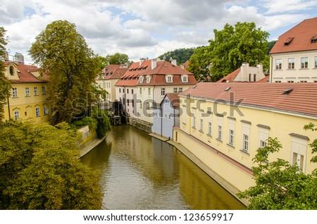 Czech Republic Ancient Architectural Detail - Europe - stock photo