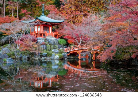 Daigoji Temple,Kyoto - stock photo